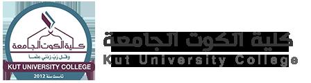 كلية الكوت الجامعة Logo